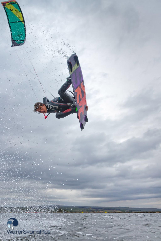 Flash shoot with Noe Font (Best Kiteboarding/Ion) in Saint Pierre la mer, France. 20 April 2014.