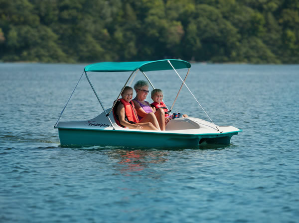 Sun Dolphin 5 Seater Pedal Boat