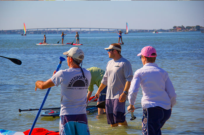 Tampa Bay Kayak & Paddleboard demo