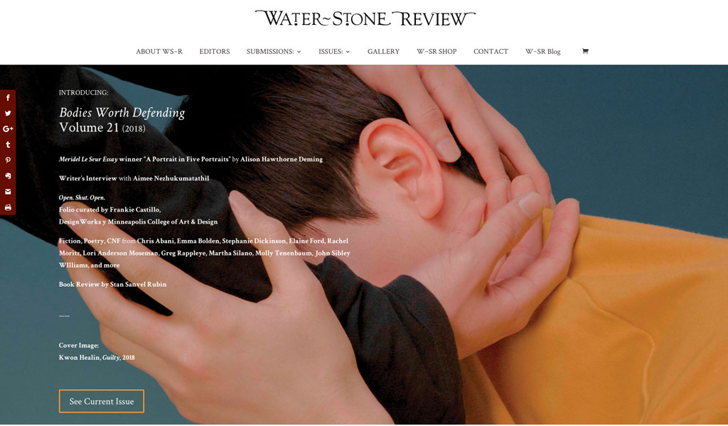 Past Issues | Water~Stone Review