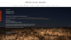 Water~Stone Review v.22 home page