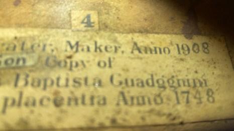 Grater label 1