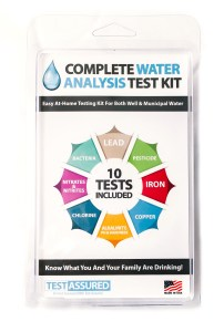 Tests for lead, iron, pesticide, bacteria and more.
