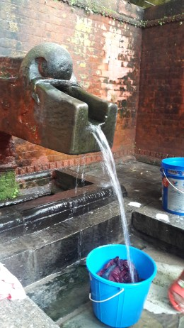 September 2016, Gyandhara at its high - 15 liter per minute