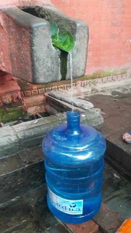 May 2016, Gyandhara at its low - 1 liter per minute