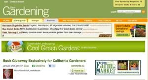 Billy Goodnick's Fine Gardening Blog