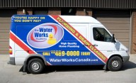 Water Works Plumbing Truck