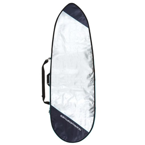 ONE 6'8_ BARRY BASIC FISH COVER (Blue)