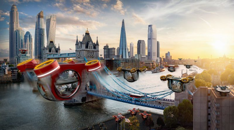 Experts predict aquatic highways, air taxis & space hotels in 50 years' time