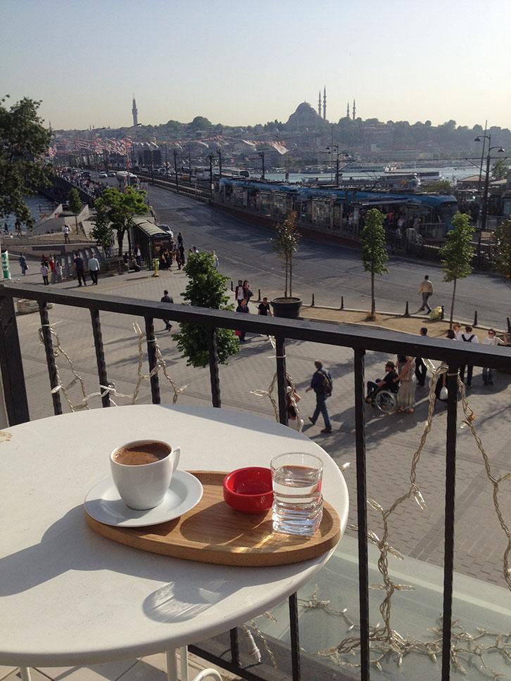 Istanbul, Turquie, café turc