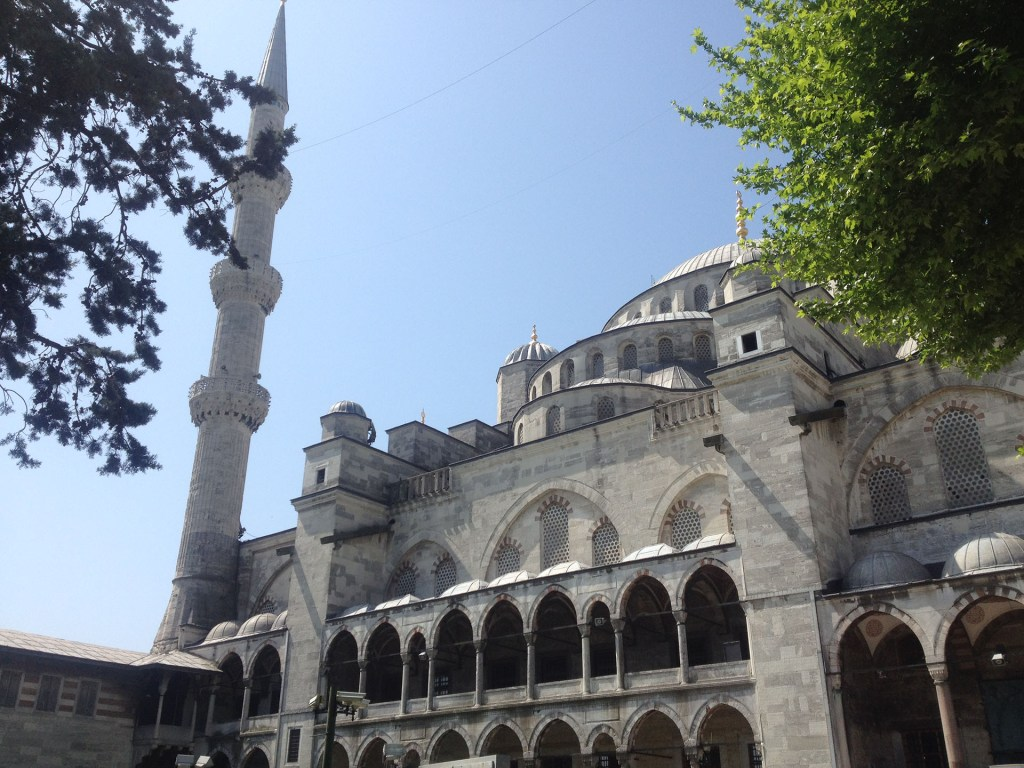 Istanbul Mosquée de Sultanhamet