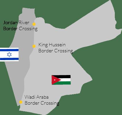 border crossing between Israel and Jordan