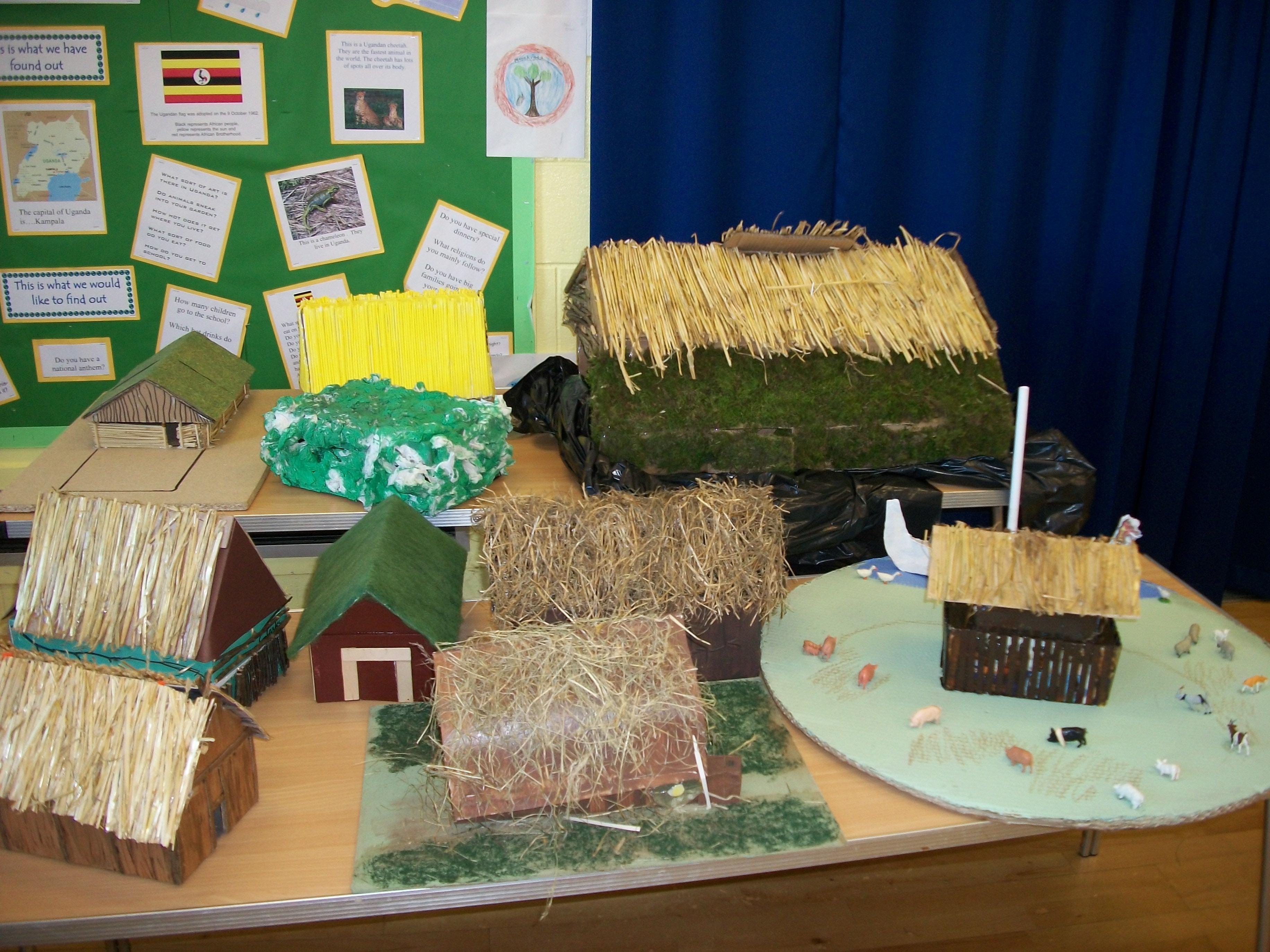 Viking Longhouses Legbourne East Wold Primary School
