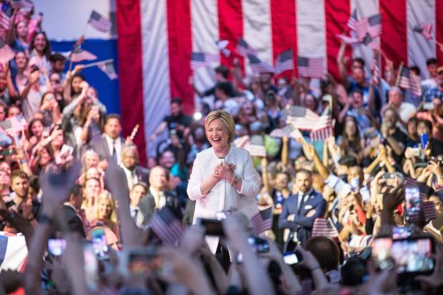 Photo copied from Hillary Clinton Facebook page.