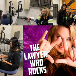 Tahmina on Lawyers Who Rock Podcast