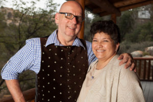 Prescott Bed and Breakfast Owners Peter and Aime Gebauer