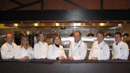 Chef Team building event with Peter Gebauer
