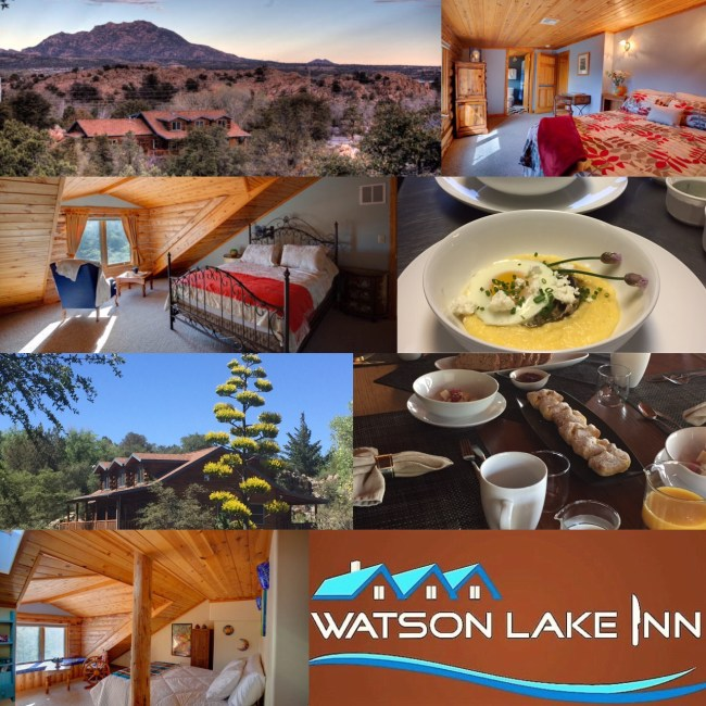 Watson Lake Inn bed and breakfast culinary school Prescott aZ