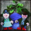 The Enormous Turnip Stick Puppets.