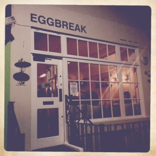 Egg Break Front
