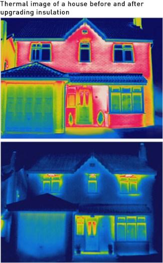thermal imaging of buildings