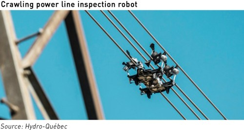 crawling inspection robot