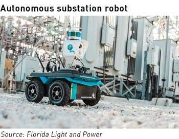 substation robot