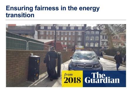 Unsuitable EV charging infrastructure