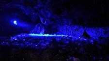 การประดับไฟในถ้ำน้ำแข็ง Narusawa