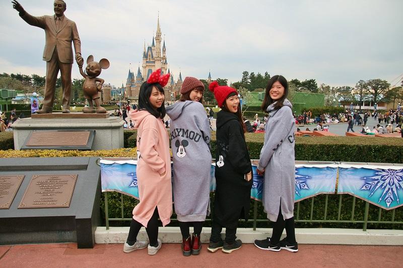 台灣學生也能購買Campus Day Passport,以優惠價格入園暢玩