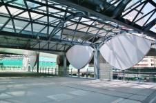 留著舊東橫線澀谷站的屋頂設計