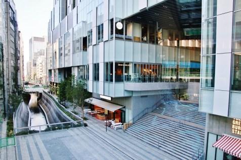 從2樓通道眺望澀谷川