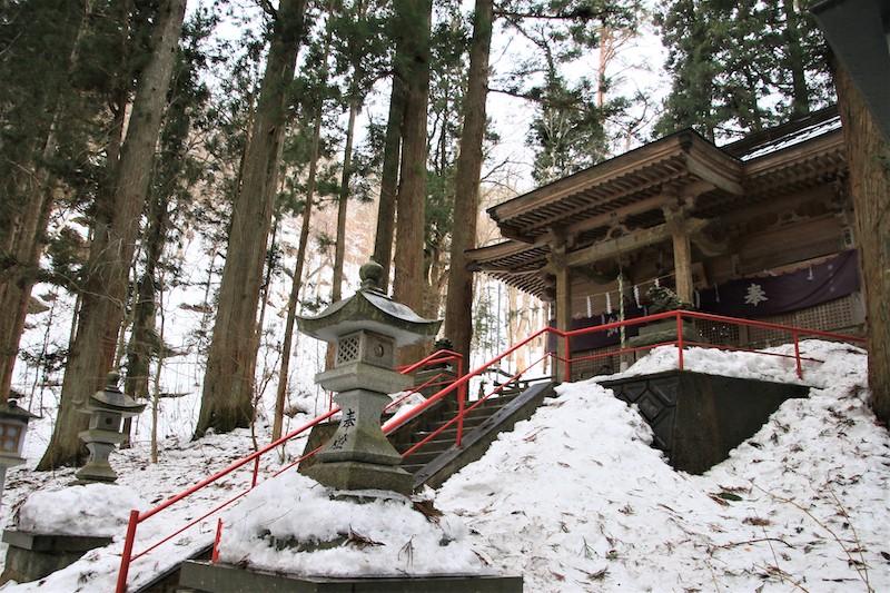 櫻松神社祭祀河神瀨織津姬,是驅除災厄的神明