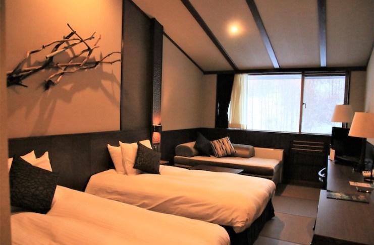 舒適寬敞的房間讓人可以好好地休息一下