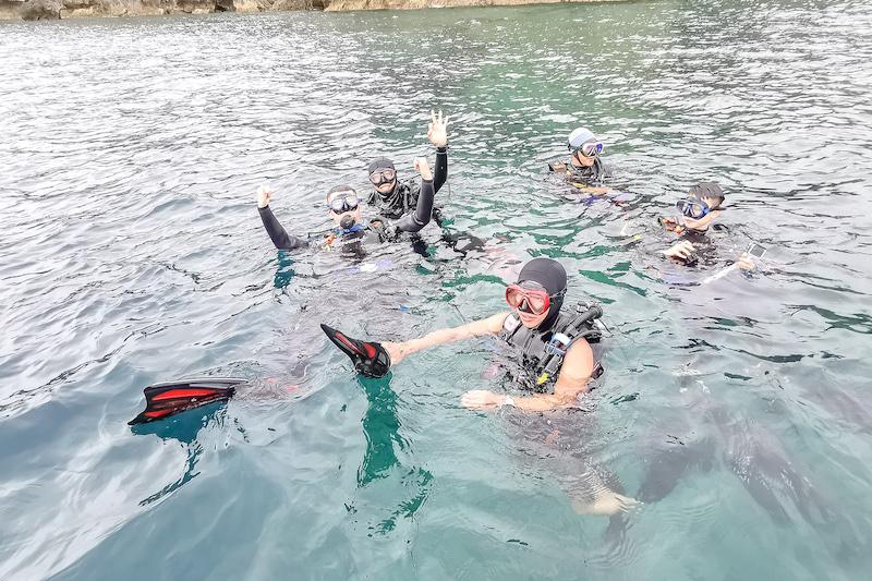 和家人一起挑戰水中樂趣(海洋家族行程)