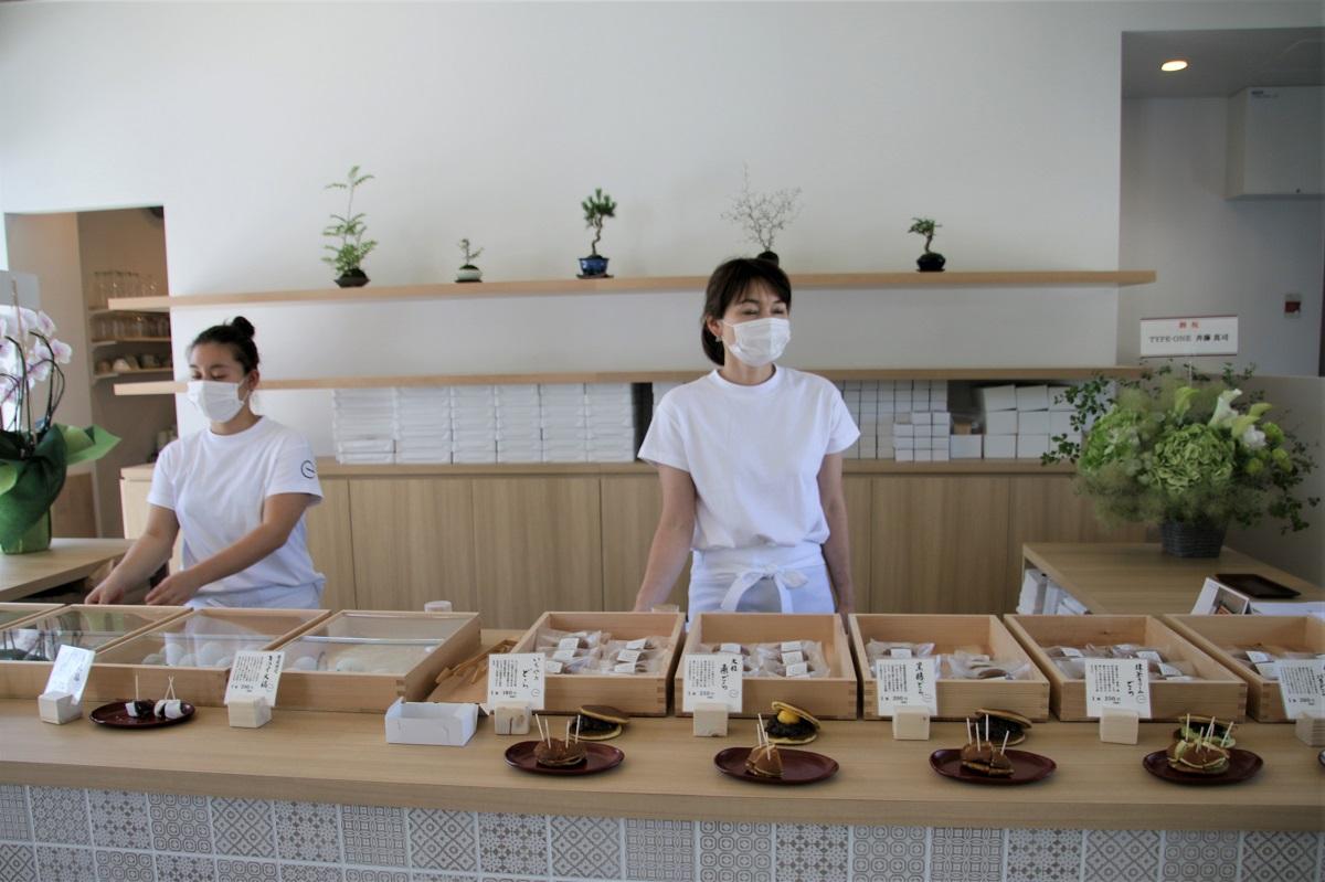 Ichiya店內除了販售大福、銅鑼燒之外也有個種口味的日式餡蜜