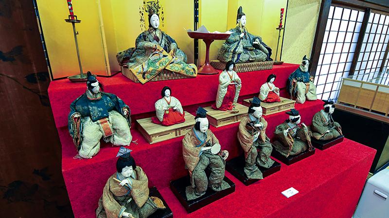 The Hina dolls of SAMURAI