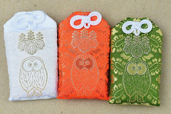 omamori charms ikebukuro owls mitaka shrine
