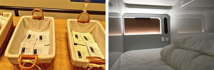 The hotel provides full amenity and a comfortable semi-double bed, which is a bit larger than a single one.