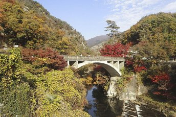 Shosenkyo Gorge- Complete immersion with nature 4