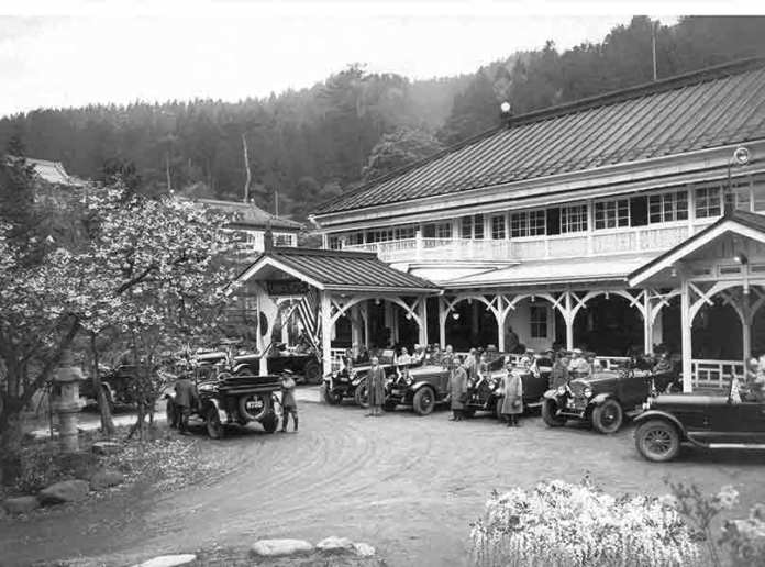 The Kanaya Hotel circa 1921