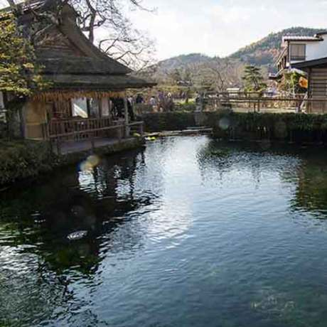 Oshino Hakkai Spring Holy waters of Oshino