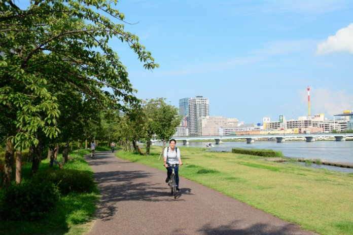 cycling in Niigata