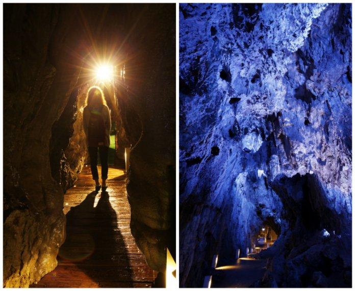 dragon blue caves ryusendo inside
