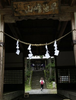 hayachine shrine in Tono Iwate