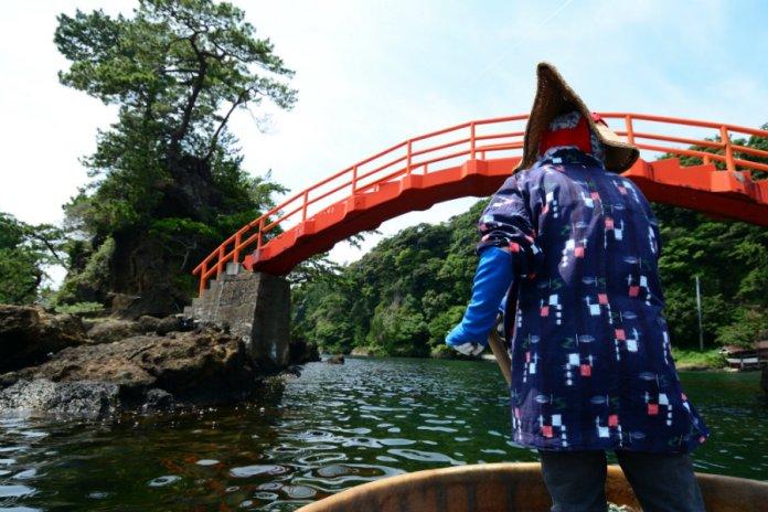 sado island tarai bune boat ride