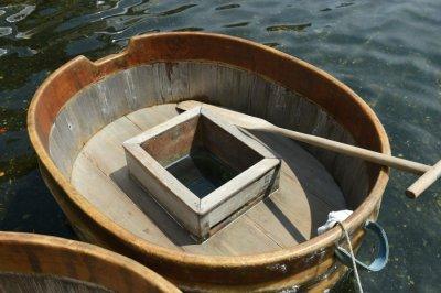 tarai bune boat up close