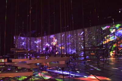 teamLab Borderless Aerial Climbing
