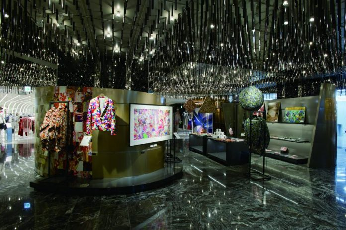 "Promotional Space ""Park"" in the present Isetan Shinjuku store"