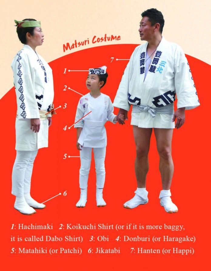 Matsuri costume